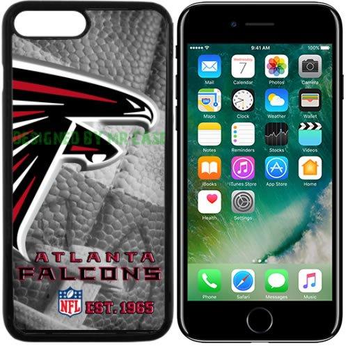 Atlanta Falcons Black Football Case (Falcons Atlanta Football New Black Apple iPhone 7 Plus Case By Mr Case)