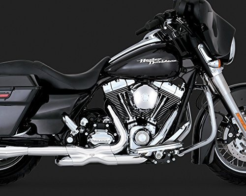 - Vance & Hines Power Duals Exhaust Chrome for 2009-16 Touring Models
