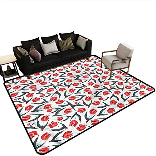 - Tulip,Dining Table Rugs 64