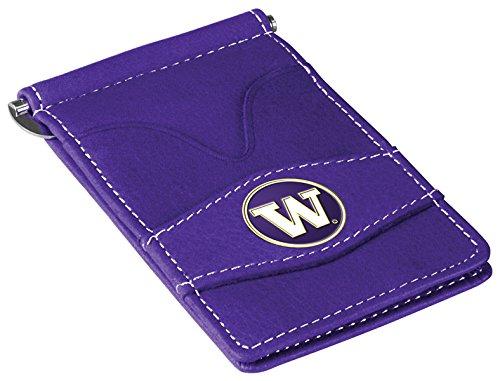 (NCAA Washington Huskies Players Wallet - Purple)