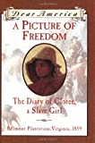 A Picture of Freedom: The Diary of Clotee, a Slave Girl, Belmont Plantation, Virginia 1859 (Dear America Series )