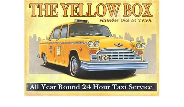 Posterlounge Cuadro de metacrilato 70 x 50 cm: Taxi Box de Georg Huber: Georg Huber: Amazon.es: Hogar