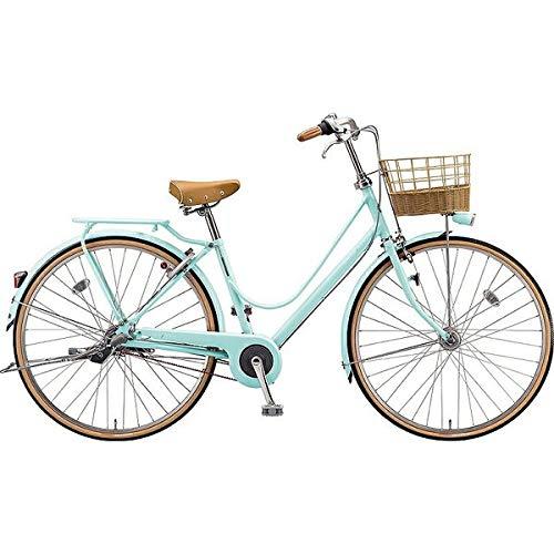 ブリヂストン シティサイクル自転車 カジュナスイートライン(チェーン) CS7TP E.Xミストグリーン E.Xミストグリーン B07J2YP7WS
