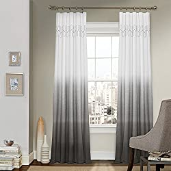 Vue Signature 14900052084GRE Arashi 52-Inch by 84-Inch Fashion Single Window Drapery Panel, Grey