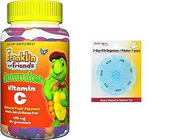 Gomitas de vitamina C suplementos Treehouse Kids, 125mg, cuenta 60 con gratis 7 días