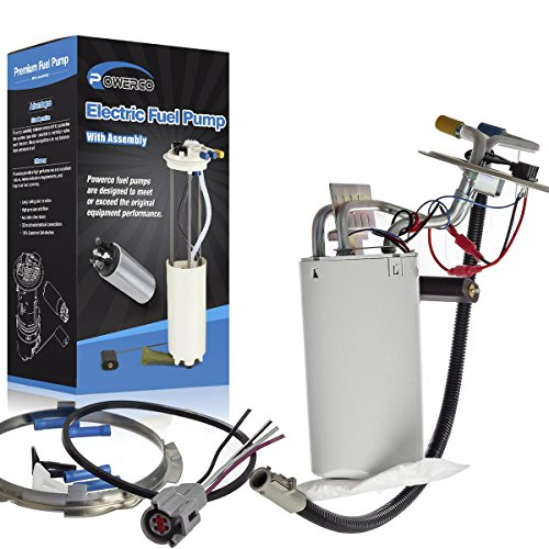 POWERCO Electric Gas Fuel Pump Module Assembly Replacement For Ford F-150 F-250 F-350 F-450 F Super Duty 1992-1998 With Sending Unit E2059M SP2005H (Fit For:17 - Pump Module Tank