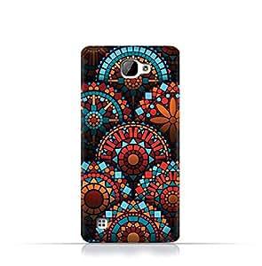 LG X5 TPU Silicone Case With Geometrical Madalas Pattern