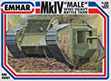 Emhar Models Mk.IV Male WWI Heavy Battle Tank Vehicle Model Building Kit