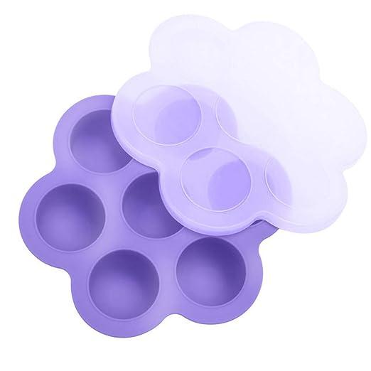 LARRY SHELL 1 Huevo de Silicona mordeduras moldes para Instant Pot ...