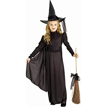 forum novelties classic witch child costume medium black