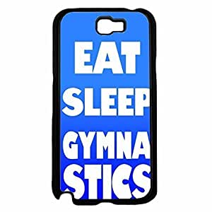 Eat Sleep Gymnastics Plastic Phone Case Back HTC One M8