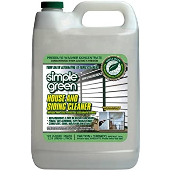 Amazon Com Simple Green 18201 House And Siding Cleaner 1
