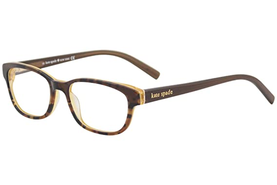 e452ae049175 Amazon.com: Kate Spade Blakely Eyeglasses-0JMD Tortoise Gold-50mm ...