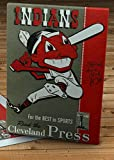 1948 Vintage Cleveland Indians Baseball Program - Canvas Gallery Wrap - 12 x 18