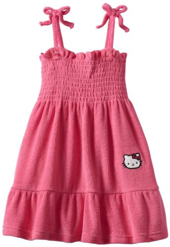 Sexy Hello Kitty Dress (Hello Kitty Terry Sundress Pink (24M, Pink))