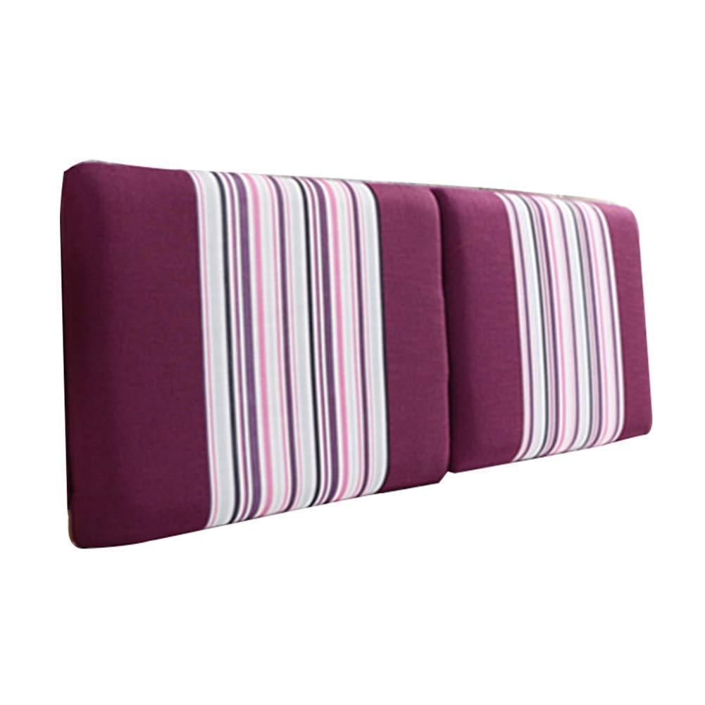 NJYT ヨーロピアンスタイルのベッドサイドクッションベッド背もたれ腰椎枕布張りパッドソファ洗える、4色、7サイズ (Color : A, Size : 135X60X20CM) B07TFJ83NK A 135X60X20CM