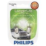 Philips 1895 LongerLife Miniature Bulb, 2 Pack