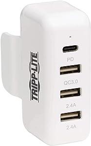 Tripp Lite Power Expansion Charging Hub Apple USB C Power Adapter 4-Port (U280-A04-A3C1)