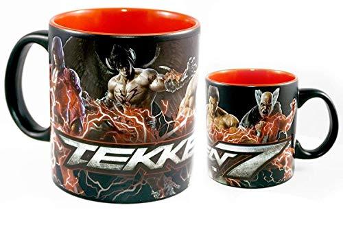 Tekken 7 Jin/ Kazuya/ Heihachi 20oz Ceramic Coffee Mug