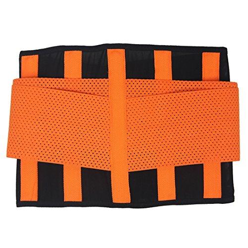 BYD Mujeres Faja Moldeadora Transpirable Elástico Cinturón Corsetería Shaping Deportivo Modelar Cuerpo Cinturón Caderas Shaper Cintura Cinturón Naranja