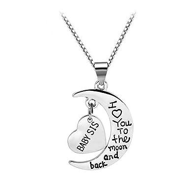 Amazoncom Unijew Girls Jewelry Sister Gifts Little Sister Necklace