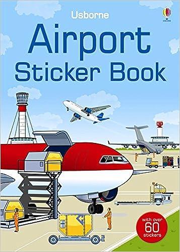 Airport Sticker Book Spotters Sticker Books Amazon Struan