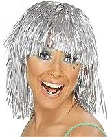 Silver Tinsel Wigs
