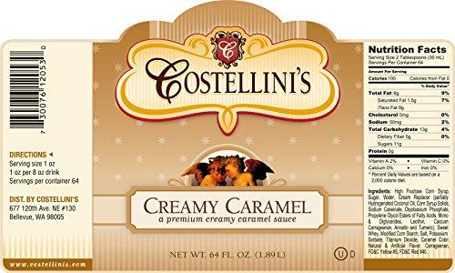 Creamy Caramel Gourmet Sauce (Creamy Caramel Syrup)