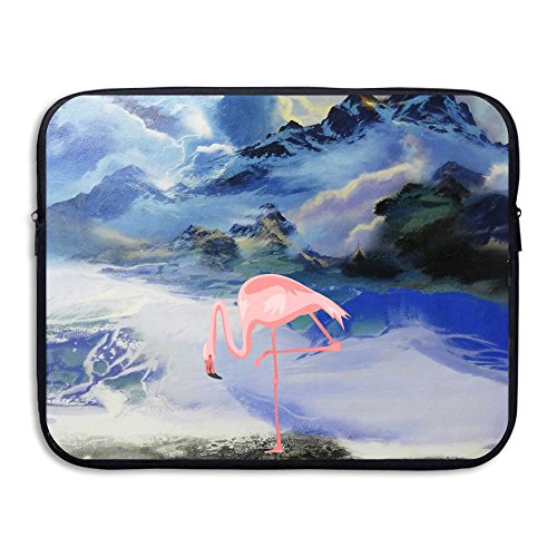 Anyiquliq Flamingos 13&15 Inch Large Capacity Fashionable Computer Bladder Bag Laptop - Outlet Wisconsin Dells