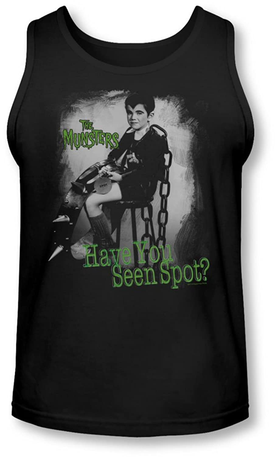 The Munsters - Mens Have You Seen Spot Tank-Top