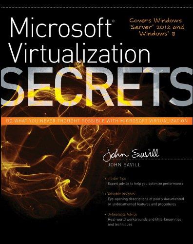 Microsoft Virtualization Secrets Pdf