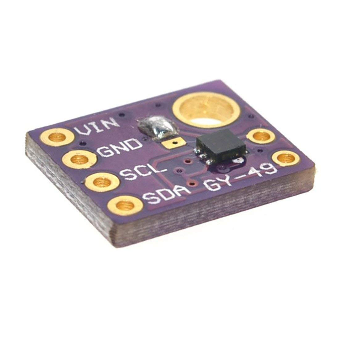 GY-49 Professionelles Hochpr/äzises MAX44009 Umgebungslicht-Sensormodul f/ür Arduino mit 4P-Stiftleiste MF Kaemma