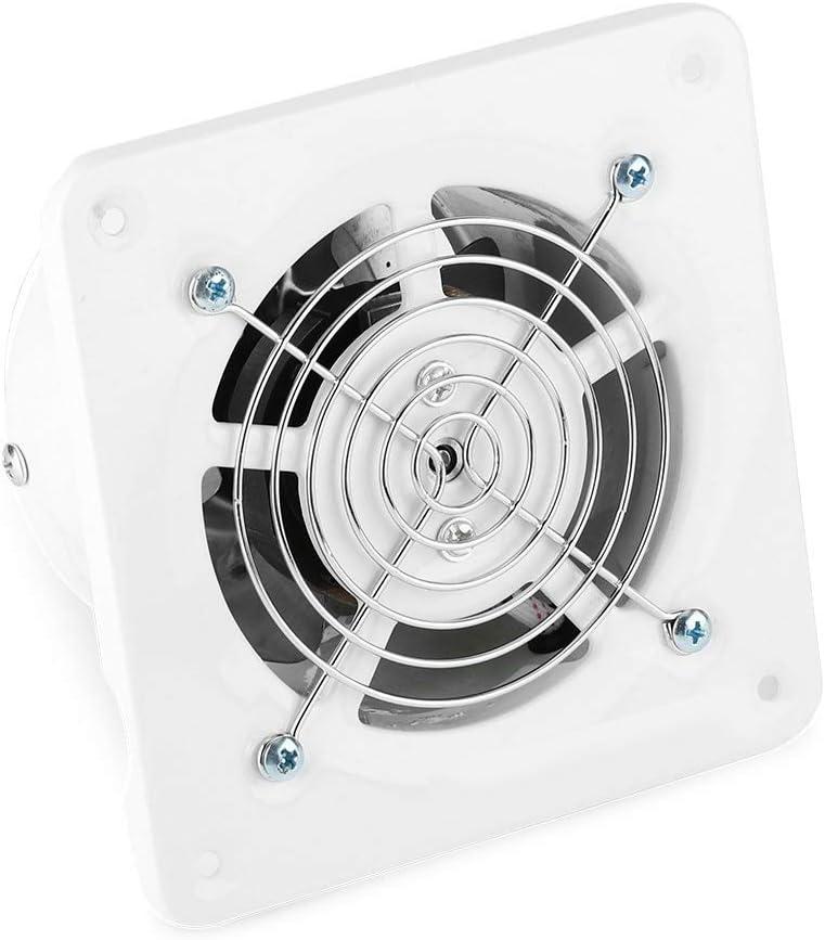 Nancunhuo Extractor - Extractor montado en la Pared de 25w 220 v, ventilación de ventilación de ventilación de Aire de bajo Ruido para el hogar, baño en el hogar, Extractor de 4 in