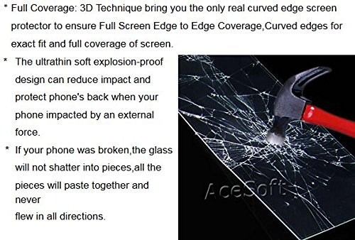 Full Coverage 9H Hardness Curved Anti-Shatter Back Tempered Glass Screen Protector [Easy to Install] for Sprint Samsung Galaxy S9 SM-G960U Android phone by SodaPop (Image #3)