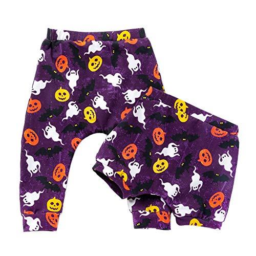 Yuke Baby 2 Pack Pants Baby Organic Cotton Trousers Shorts Set 2-6 Years Old Unisex Baby Sleepwear (5 Years Old, ()
