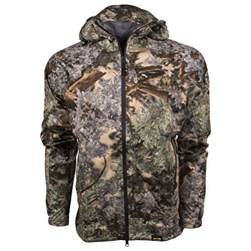 King's Camo XKG Windstorm Peak Camo Rain Jacket, Desert Shadow, -