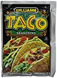 Williams Taco Seasoning Mix, 1.25 Ounce (Pack of 24)