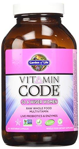 Garden of Life Vitamin Code Raw 50 and Wiser Women