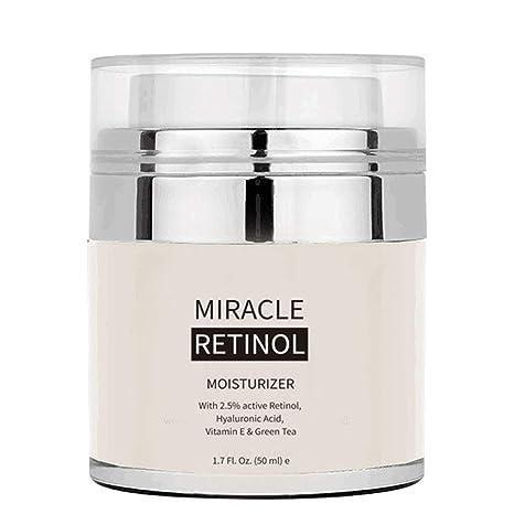 Mimiga Retinol Crema hidratante con Vitamina A C E Pure Retinol Crema para la Cara y los Ojos