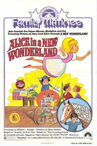 Alice in New Wonderland Movie Poster (27 x 40 Inches - 69cm x 102cm) (1975) -(Luce Ennis)(Norma MacMillan)(Howard Morris)(Carl Reiner)(Trinka Snyder)(Allen Swift)