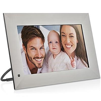 NIX Lux Digital Photo & Full HD Video Frame, With Hu Motion Sensor, USB/SD Card Playback and One Year Warranty