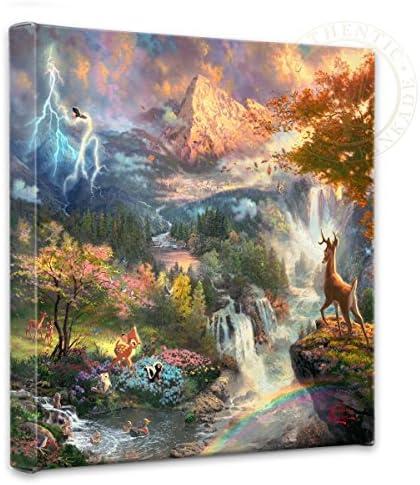 Thomas Kinkade Bambi s First Year Gallery Wrap Canvas