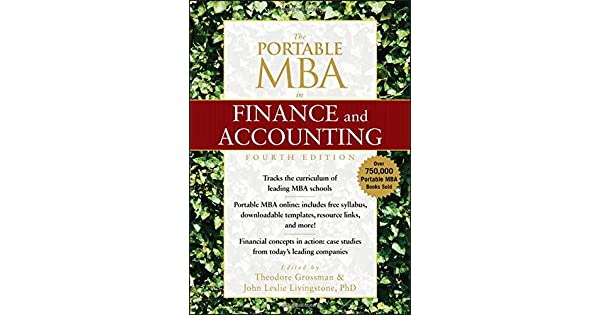 The Portable MBA in Finance and Accounting: Theodore