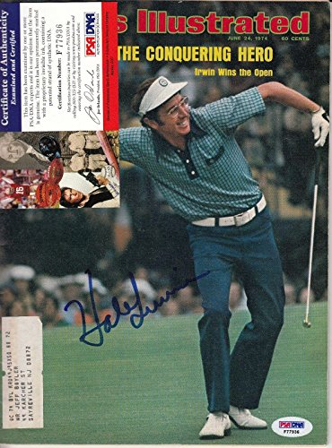 (Hale Irwin Sports Illustrated Autograph Auto Certified Authentic - PSA/DNA Certified - Autographed Golf Magazines)