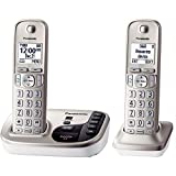 Panasonic KX-TGD222N Expandable Cordless Phone with Talking Caller ID- 2 Handsets