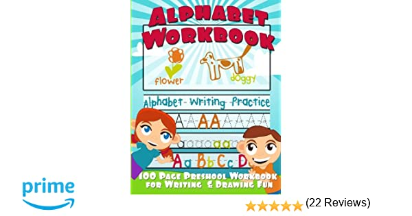Alphabet Workbook: Alphabet Writing Practice (Preschool Workbook ...