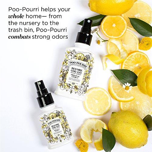 PooPourri BeforeYouGo Toilet Spray Original Citrus Scent 2 oz