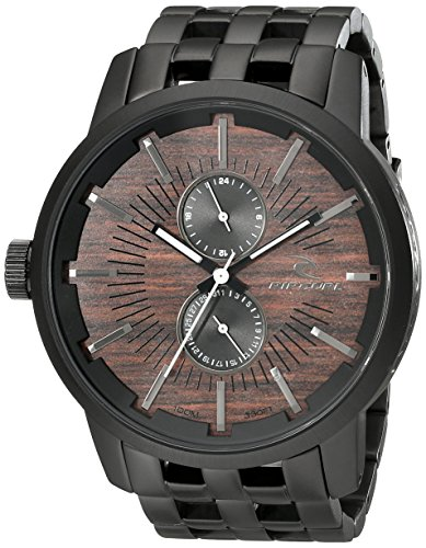 Rip Curl Men's A2785 Analog Display Black Watch