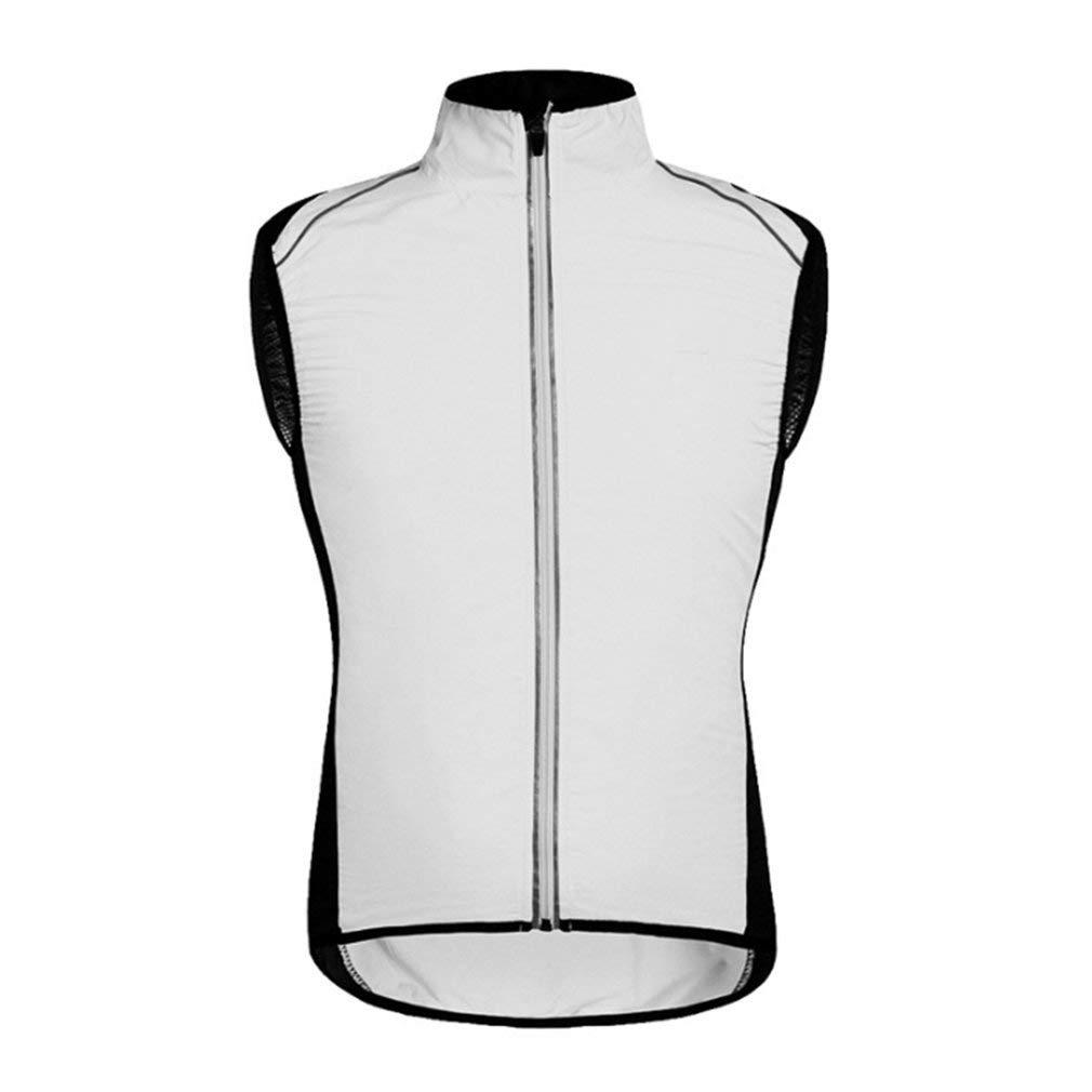 s//m//L//XL//XXL Cyclisme sans manches respirant V/élo Gilet sans manches maillots de v/élo de v/élo Gilet coupe-vent /étanche pour homme femme Multi Options de couleur