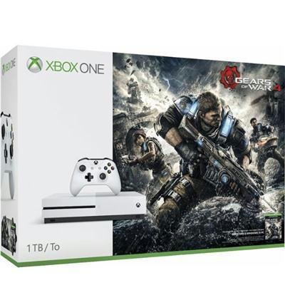 Microsoft-Xbox-One-S-Gears-of-War-4-1TB-Console-Bundle-White